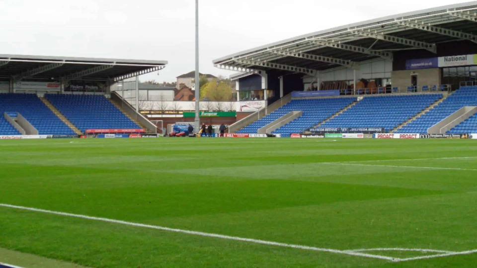Chesterfield Football Club Stadium