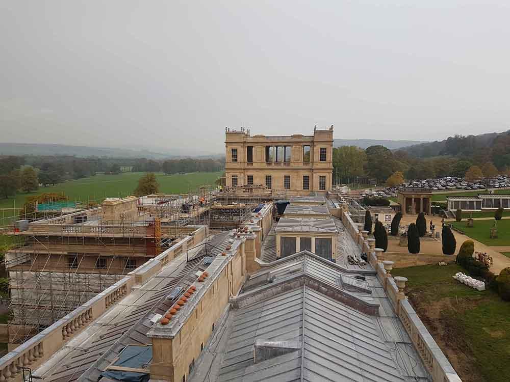 Chatsworth Hall - Roof Repairs