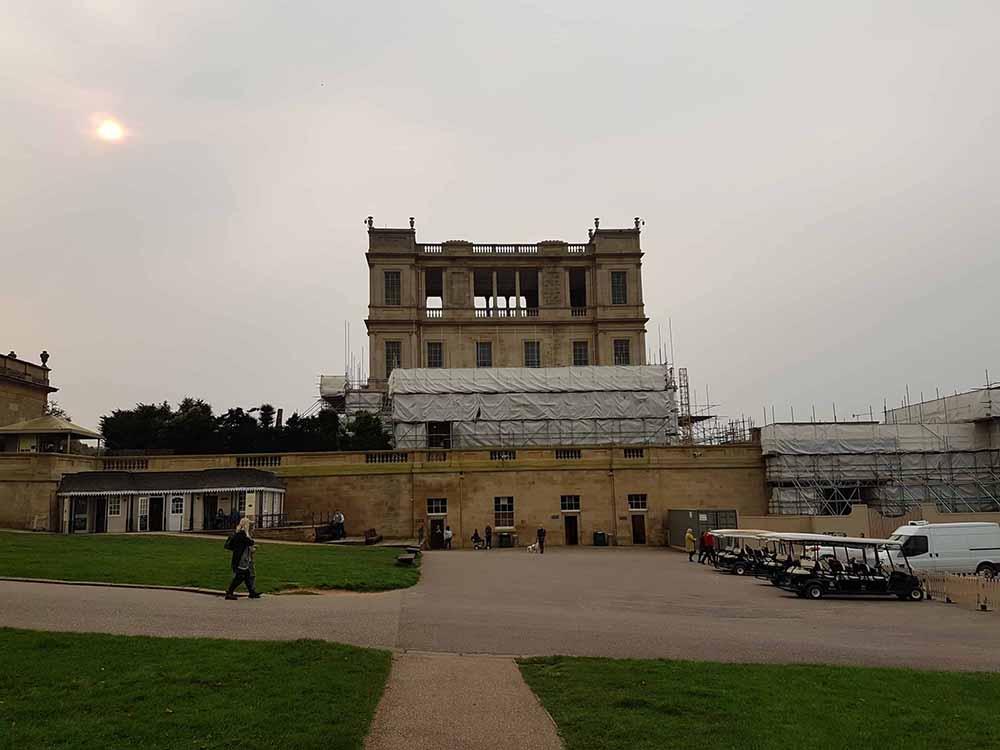 Chatsworth Hall - Restoration