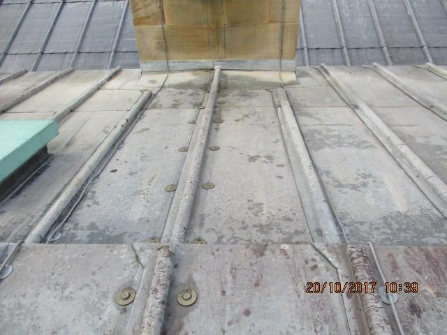 Chatsworth Hall - Roof