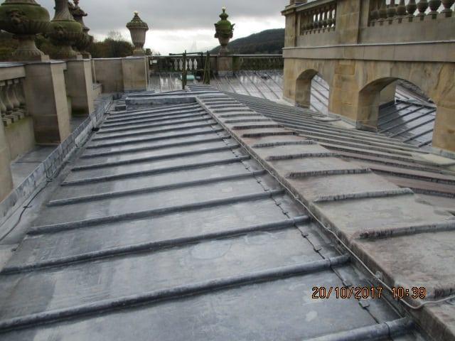 Chatsworth Hall - Roof (2)
