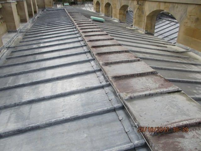 Chatsworth Hall - Roof (3)