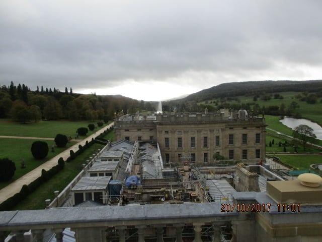 Chatsworth Hall - Restoration Work